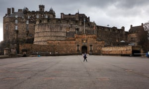 The Edinburgh Castle esplanade is one of the sites that will be lit up around the city.