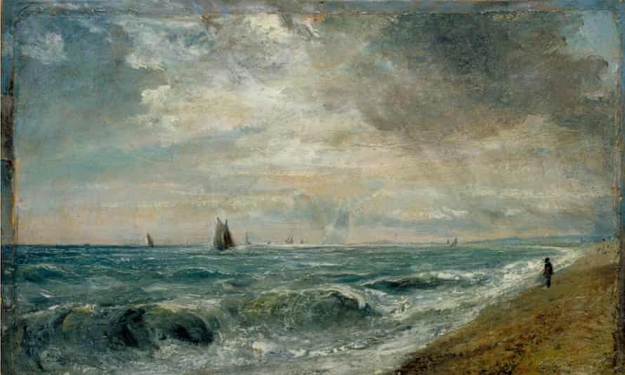 Constable's Hove Beach, c1824-28 (cropped).