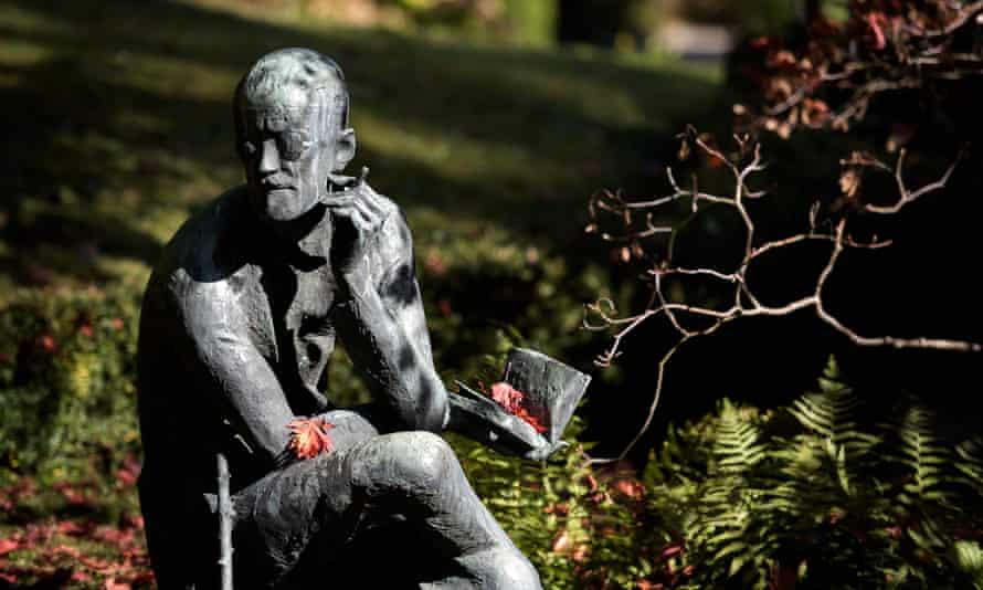 James Joyce's grave in Zurich.