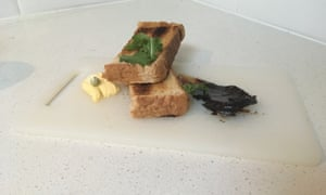 The Guardian's attempt at deconstructing Vegemite on toast