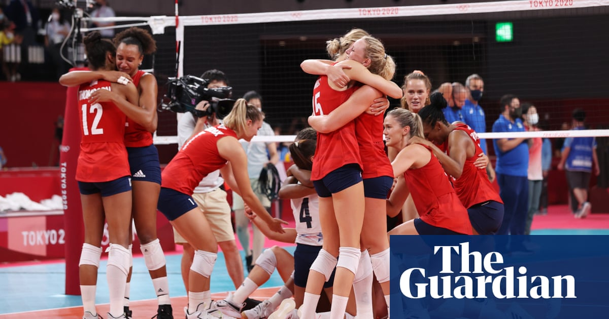 Volleyball gold edges USA past China on final Tokyo Olympics medal table
