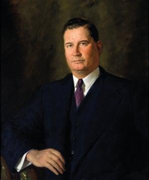 The Rt Hon. Sir Arthur William Fadden GCMG, 1947. William Dargie (1912–2003)
