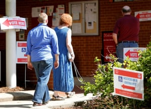 District of Columbia voters head to the polls in the final 2016 U.S. Democratic primary