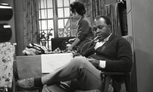 Thomas Baptiste as Johnny Alexander and Barbara Assoon as Mrs Alexander in Coronation Street in 1963.