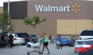 Walmart store in Miami, Florida