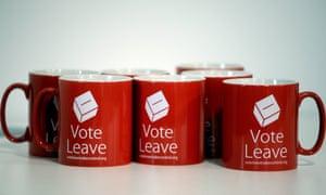 Vote Leave mugs