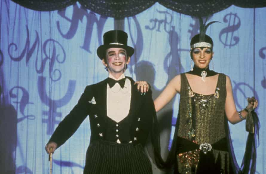 With Liza Minnelli in Cabaret.
