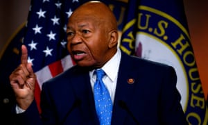 Elijah Cummings delivers a press conference following Robert Mueller's testimony this week.