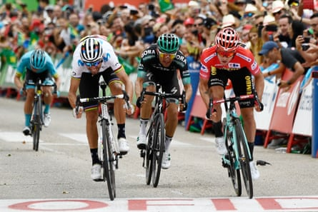 Vuelta A Espana Primoz Roglic Closes In On Glory After Stage 18 Vuelta A Espana The Guardian