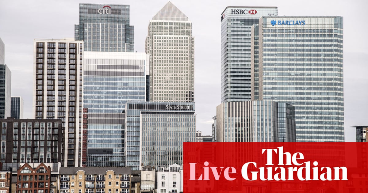 Investment and takeover boom looms as UK firms target growth – business live