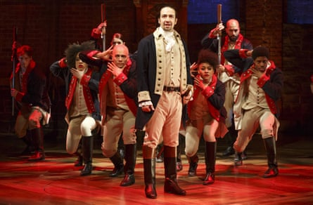 Hip-hop history man: playing the lead in a performance of Hamilton in New York