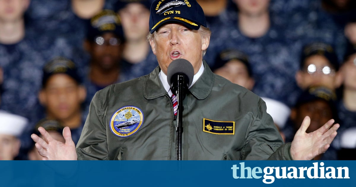 The latest US navy collision should worry Trump's Asian allies | Mary Dejevsky