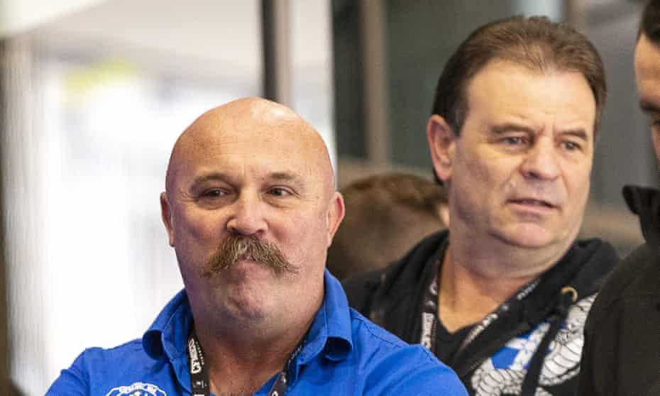 CFMEU officials John Setka and Shaun Reardon