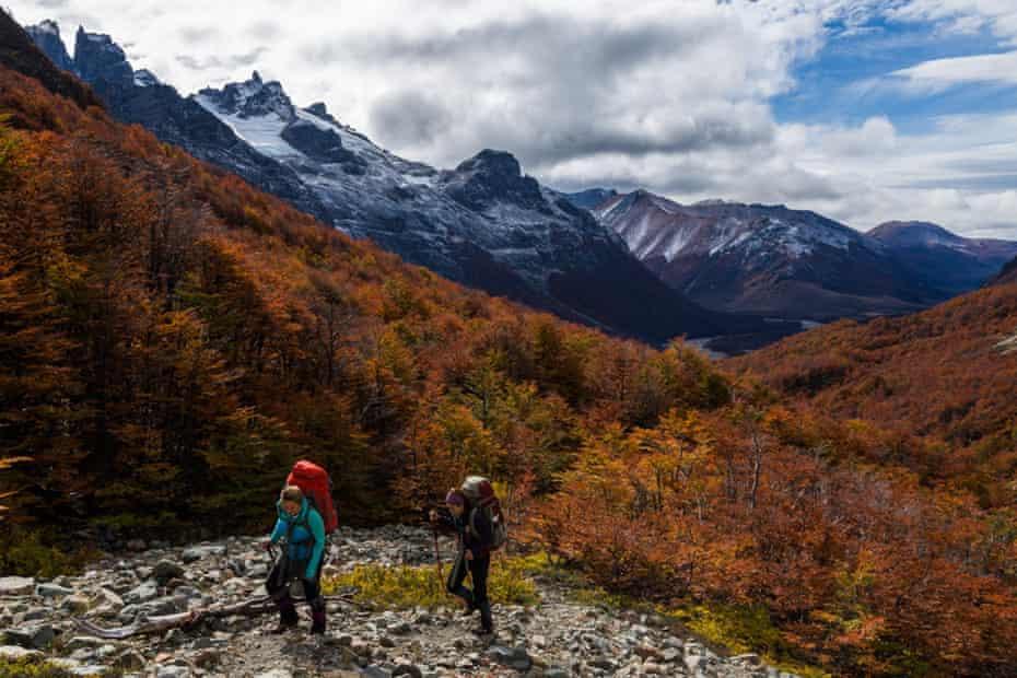 Cerro Castillo, in the national park of the same name.
