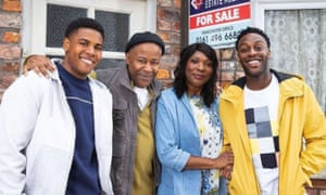 The Bailey family, new residents of Weatherfield
