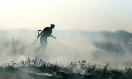 Second man arrested over Lancashire moorland fire