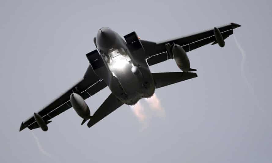 A Tornado takes off from RAF Lossiemouth, Scotland.
