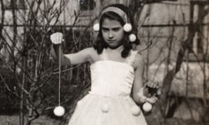 Camera off: Granny as a snow flake 1930ish