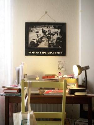 Rhiannon's desk