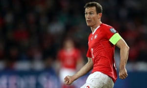Stephan Lichtsteiner is likely to captain Switzerland at the World Cup