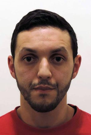 This undated file picture released on November 24, 2015 by Belgian federal police shows Mohamed Abrini (30) who was seen on November 11 at a gas station in Ressons on the highway heading to Paris. Belgium issued an international arrest warrant for Abrini who was see n driving a car with key Paris attacks suspect Salah Abdeslam two days before the atrocities. AFP PHOTO/BELGA PHOTO FEDERAL POLICEFederal police/AFP/Getty Images