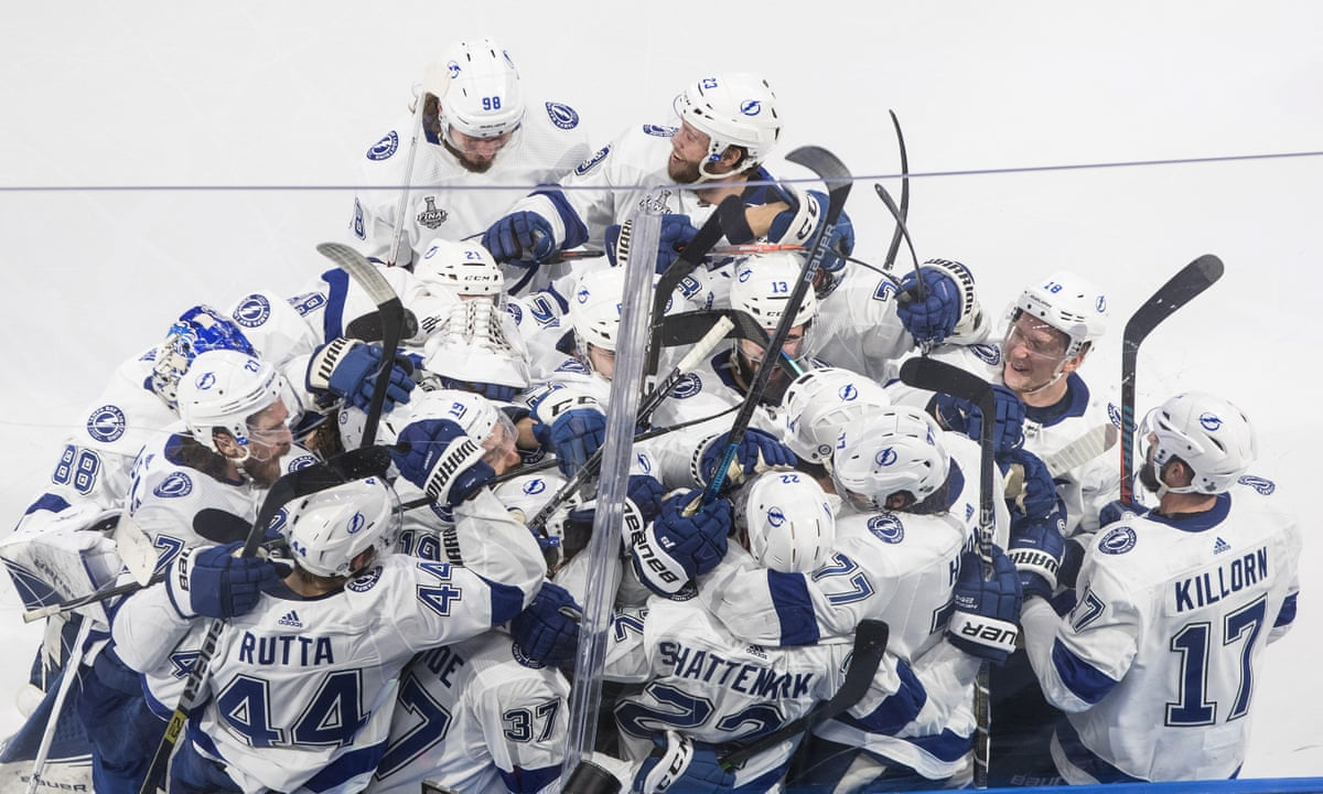 Tampa Bay Lightning On Brink Of Cup After Shattenkirk S Ot Winner In Game 4 Stanley Cup The Guardian