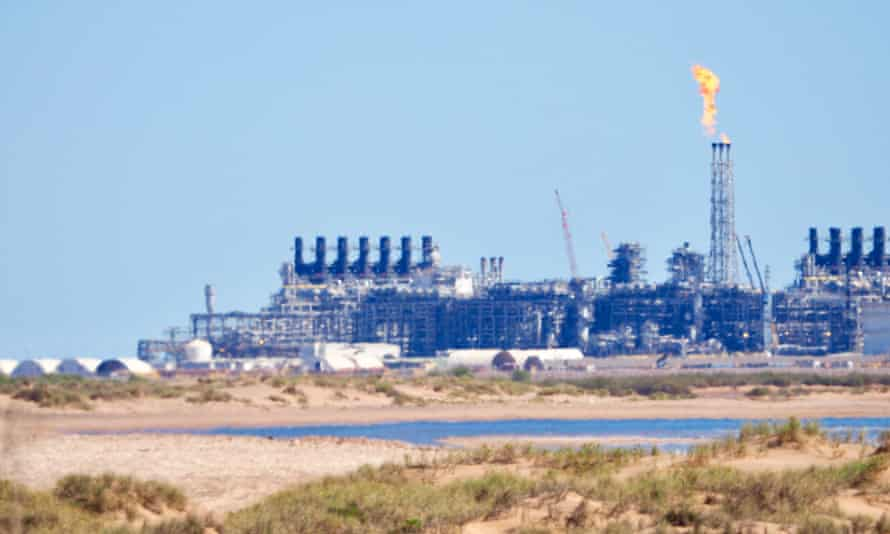 Chevron was required to offset some of the emissions from Wheatstone refinery, but the requirement was dropped by the former Liberal state government when a national carbon price was introduced in 2011. It still has not been reinstated.