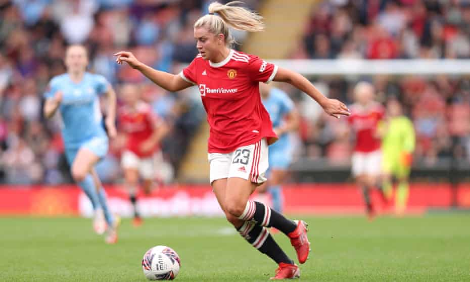 Manchester United's Alessia Russo is part of the England squad to face Northern Ireland and Latvia.