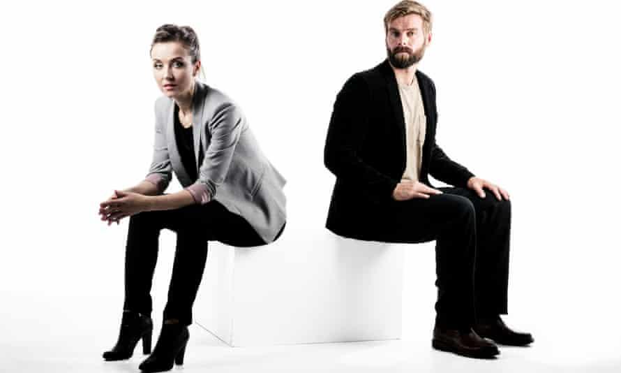 Thordis Elva and Tom Stranger photographed in Brisbane, Australia, last week for the Observer New Review.