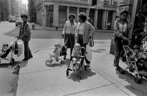 Black Nannies/White Tykes, SoHo, NYC, 1982