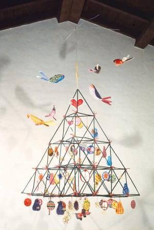 Kavanaugh's straw Christmas tree, 1972.