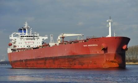 The tanker Nave Andromeda