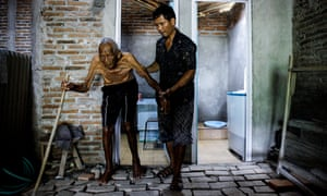 Mbah Gotho was believed to be the world's oldest man with documentation that stated that he was born in 1870.