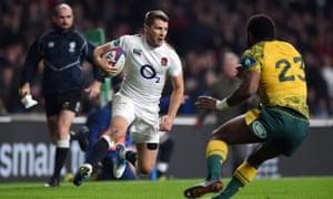 England v Australia rugby Test