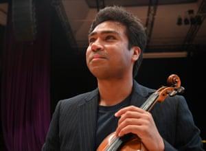 Raja Halder, violin
