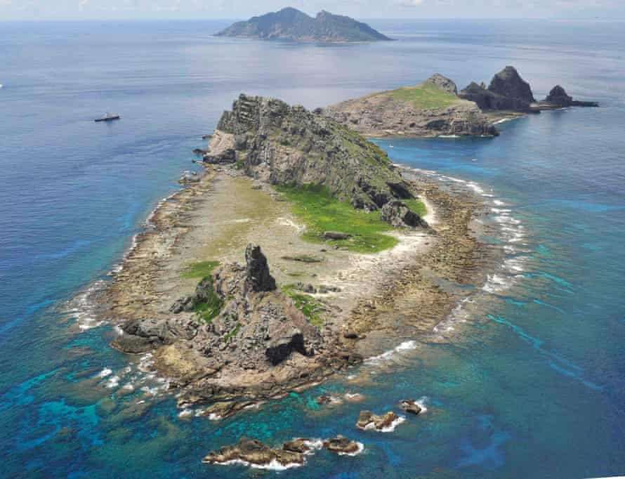 The Senkaku Islands, owned by Japan but also claimed (as the Diaoyu Islands) by China.