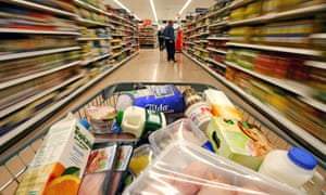 Food prices were down 3.4% over the year,