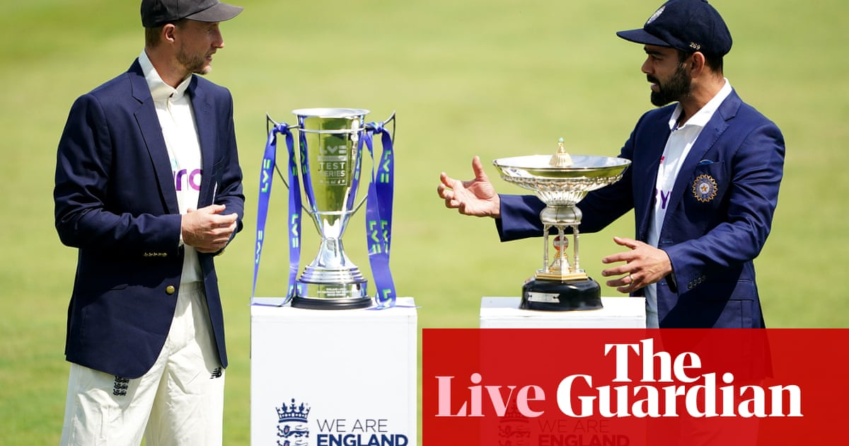 England v India: first Test, day one – live!