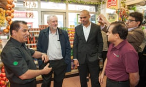 Jeremy Corbyn joined Marvin Rees on the campaign trail last month.