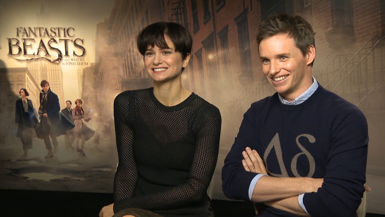 Fantastic Beasts cast: \'A bunch of squirrels together ... that\'s ...