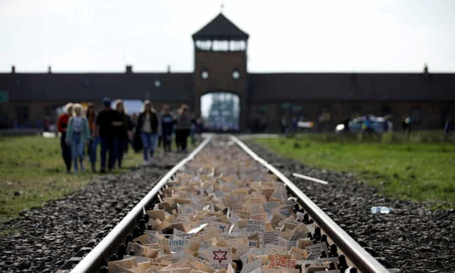 The former Nazi concentration camp Auschwitz