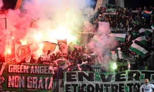 St Étienne fans accused their team of lacking desire, pride and courage earlier in the season but the players have shown real heart in their last few games.