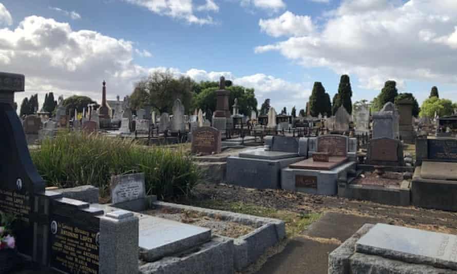 Graves, graveyard for Paul Daley postcolonial column.