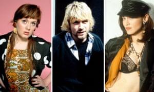 Adele, Kurt Cobain and Madonna.