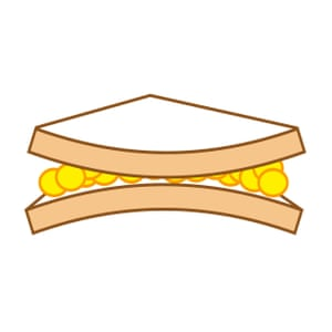 The dreaded curling sandwich.