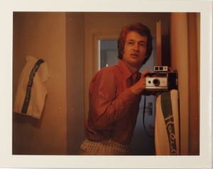 Self-portrait, 1975, by Wim Wenders.