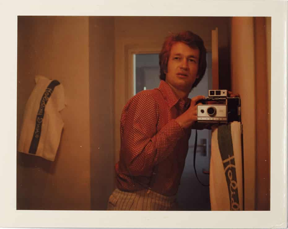 Self-portrait, 1975, by Wim Wenders.