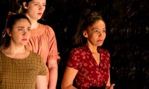 Shari Sebbens, Airlie Dodds and Paula Arundell in The Bleeding Tree