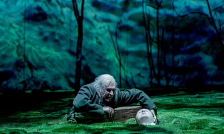 James McArdle and Marc Mackinnon in Peter Gynt at Olivier, London
