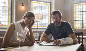 Rosamund Pike and Chris O'Dowd in State of the Union.